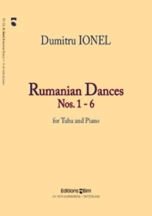 Dumitru Ionel - Rumanian Dances N° 1-6 - Partition - di-arezzo.fr
