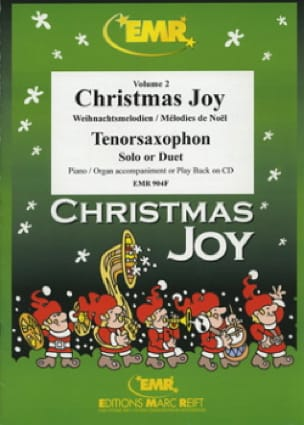 Christmas Joy Volume 2 - Partition - Saxophone - laflutedepan.com