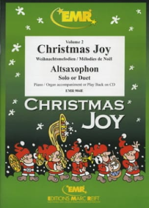 Christmas Joy Volume 2 Partition Saxophone - laflutedepan
