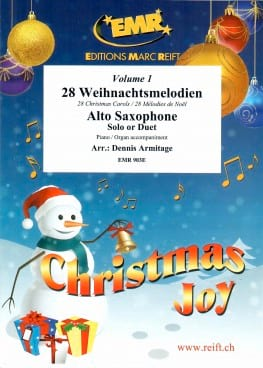 Christmas Joy - Volume 1 Partition Saxophone - laflutedepan