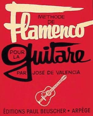 Méthode de Flamenco Pour la Guitare Valencia José De laflutedepan
