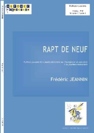 Frédéric Jeannin - Rapt de Neuf - Partition - di-arezzo.fr