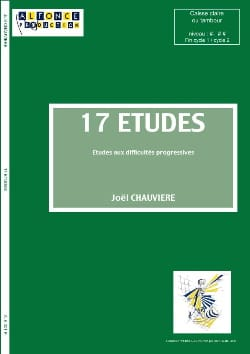 Joël Chauvière - 17 Studies For Drum or Crate - Sheet Music - di-arezzo.com