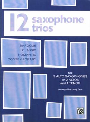- 12 Saxophone Trios - Partition - di-arezzo.fr