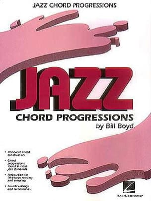 Bill Boyd - Jazz Chord Progressions - Partition - di-arezzo.fr