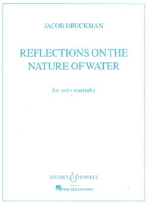 Jacob Druckman - Reflections On The Nature Of Water - Partition - di-arezzo.fr