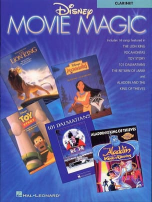 DISNEY - Disney Movie Magic - Sheet Music - di-arezzo.co.uk