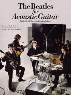 BEATLES - The Beatles For Acoustic Guitar - Sheet Music - di-arezzo.com