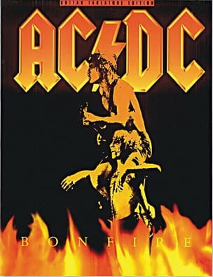 AC-DC - Bonfire - Partition - di-arezzo.co.uk