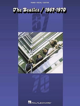 The Beatles Bleu 1967-1970 BEATLES Partition Pop / Rock - laflutedepan