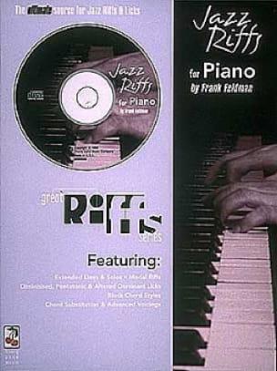 Jazz Riffs - Franck Feldman - Partition - Jazz - laflutedepan.com
