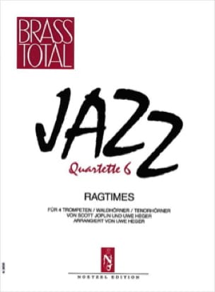 Jazz Quartette 6 - Ragtimes - Partition - di-arezzo.fr