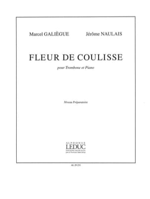 Galiègue M. / Naulais J. - Flower of Coulisse - Sheet Music - di-arezzo.com