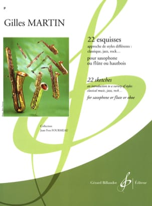 Gilles Martin - 22 Sketches - Sheet Music - di-arezzo.com