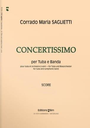 Corrado Maria Saglietti - Concertissimo - Partition - di-arezzo.fr