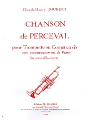 Chanson de Perceval Claude-Henry Joubert Partition laflutedepan
