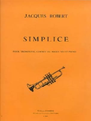 Jacques Robert - Simplice - Partition - di-arezzo.fr