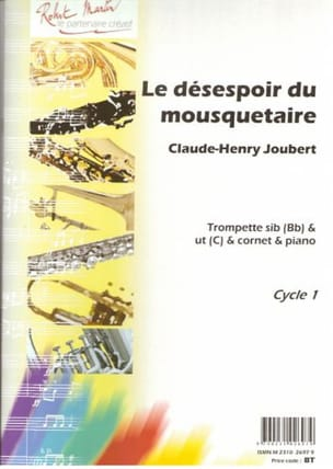 Claude-Henry Joubert - The Despair of the Musketeer - Sheet Music - di-arezzo.com