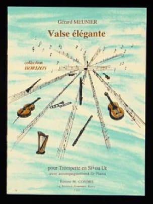 Gérard Meunier - Valse Elégante - Partition - di-arezzo.fr