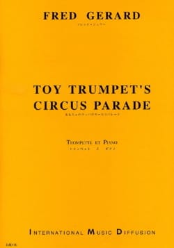 Fred Gérard - Toy Trumpet's Circus Parade - Partition - di-arezzo.fr