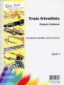 Francis Coiteux - Three Frivolities - Sheet Music - di-arezzo.co.uk