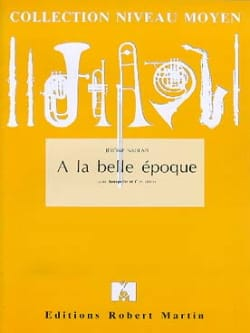 Jérôme Naulais - A la Belle Epoque - Partition - di-arezzo.fr