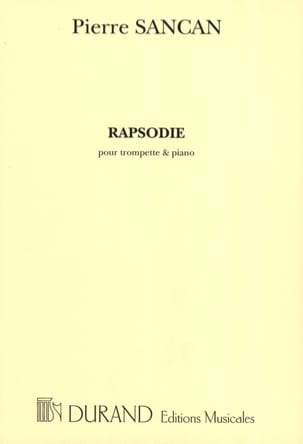 Pierre Sancan - Rapsodie - Partition - di-arezzo.fr