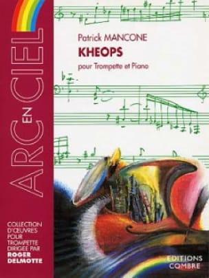 Patrick Mancone - Kheops - Partition - di-arezzo.fr