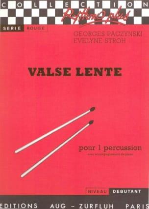 Paczynski Georges / Stroh Evelyne - Valse Lente - Partition - di-arezzo.fr