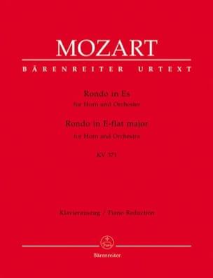 MOZART - Rondo In Es KV 371 - Partitura - di-arezzo.es