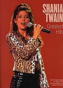 Greatest Hits - Shania Twain - Partition - laflutedepan.com