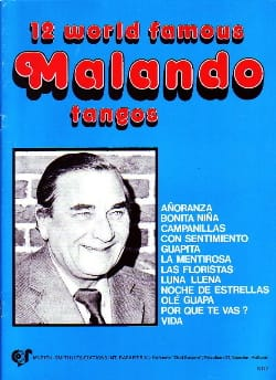 A. Malando - 12 World Famous Malando Tangos - Sheet Music - di-arezzo.co.uk