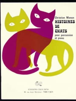 Christian Manen - Cats stories - Sheet Music - di-arezzo.co.uk