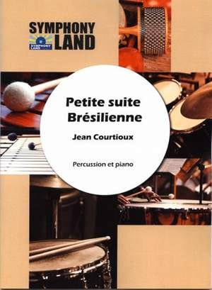 Petite Suite Brésilienne Jean Courtioux Partition laflutedepan