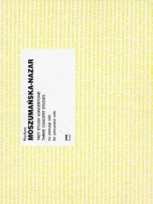 Krystyna Moszumanska-Nazar - Three Concert Studies - Partition - di-arezzo.fr