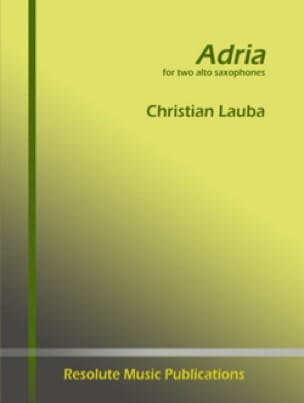 Christian Lauba - Adria - Sheet Music - di-arezzo.co.uk