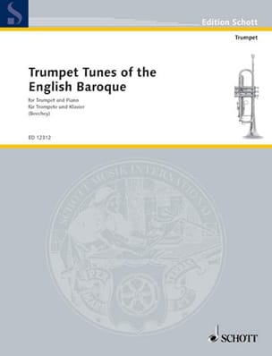 Trumpet Tunes Of The English Baroque Partition laflutedepan