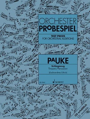 - Orchester Probespiel Pauke - Sheet Music - di-arezzo.co.uk