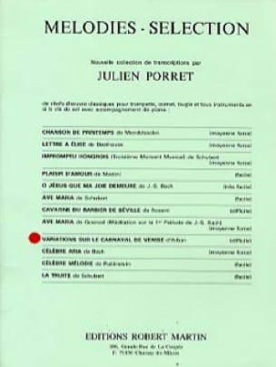 Jean-Baptiste Arban - Variation on the carnival of Venice - Sheet Music - di-arezzo.com