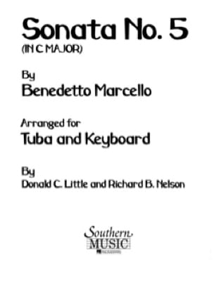 Benedetto Marcello - Sonata No. 5 In C Maj - Sheet Music - di-arezzo.com
