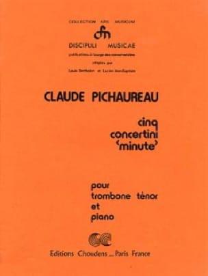 Claude Pichaureau - Cinq Concertini Minute - Partition - di-arezzo.fr