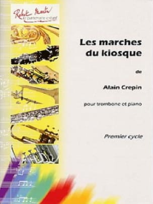 Alain Crepin - Les marches du kiosque - Partition - di-arezzo.fr