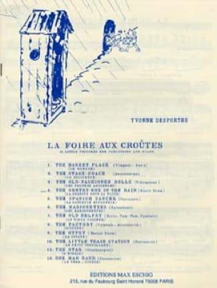 N° 4 la Guérite Sous la Pluie - Yvonne Desportes - laflutedepan.com