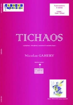 Tichaos Nicolas Gahery Partition laflutedepan