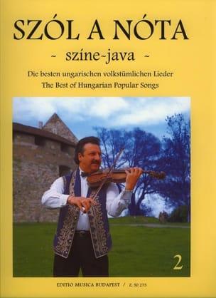 Szol A Nota Szine Java Volume 2 Partition Violon - laflutedepan