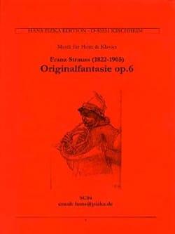 Franz Strauss - Original Fantasie Opus 6 - Sheet Music - di-arezzo.com