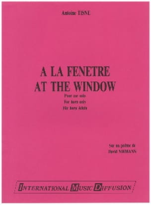Antoine Tisne - At the window - Sheet Music - di-arezzo.com