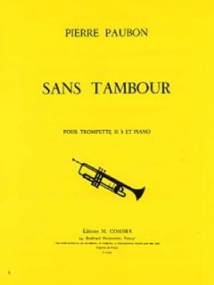 Pierre Paubon - Sans Tambour - Partition - di-arezzo.fr