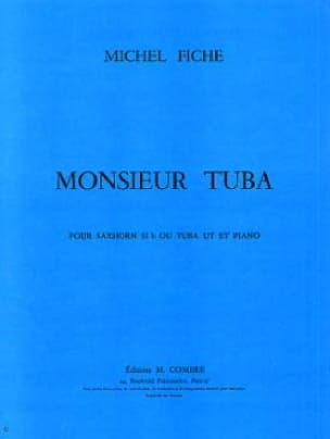 Michel Fiche - Monsieur Tuba - Partition - di-arezzo.fr