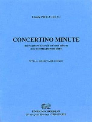 Claude Pichaureau - Concertino Minute - Partition - di-arezzo.fr